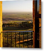 Cultivated Land In Spain Metal Print