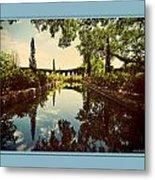 Cummer Pond Zen Metal Print