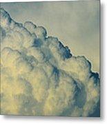 Cumulonimbus Clouds Metal Print