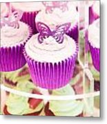 Cup Cakes Metal Print by Tom Gowanlock