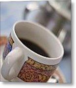 Cup Of Coffee Metal Print by David DuChemin