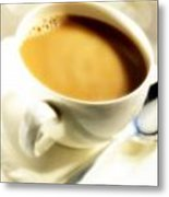 Cup Of Coffee Metal Print