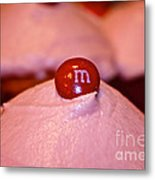 Cupcake Candy Connection Metal Print