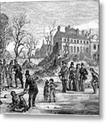 Curling, 1853 Metal Print