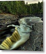 Current River Falls Metal Print