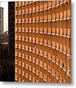 Curved Balconies Metal Print