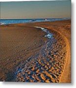 Curving To The Sea I Metal Print