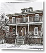 Cushings Point House Metal Print