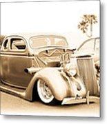Custom 1936 Ford Metal Print