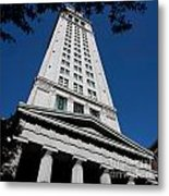 Custom House Boston Metal Print