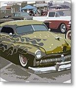 Custom Merc Metal Print by Steve McKinzie
