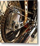 Custom Motorcycle Chopper . 7d13320 Metal Print