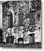 Customs House And Ruins Metal Print
