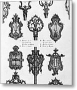 Cuvilli�s: Locks And Keys Metal Print