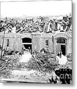 Cyclone Damage, 1896 Metal Print by Science Source