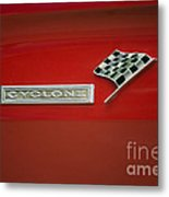 Cyclone Emblem Metal Print