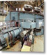 Cyclotron Particle Accelerator Metal Print by Ria Novosti