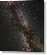 Cygnus, Lyra And The Great Rift Metal Print