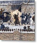 Czars Assassination, 1881 Metal Print