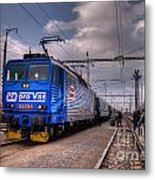 Czech Express Metal Print