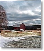 Dairy In The Hills Metal Print