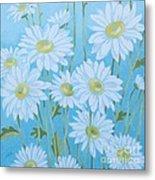 Daisies # 3 Metal Print