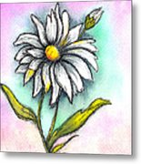Daisy Thoughts Metal Print