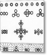 Daltons Symbols Metal Print