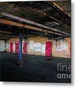 Damp Basement Area Metal Print by Richard Thomas