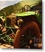 Damsel In Distress - 7d17504 Metal Print by Wingsdomain Art and Photography