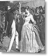 Dance, 19th Century Metal Print by Granger