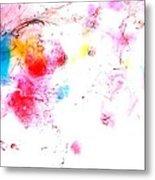 Dance Of Colors Metal Print