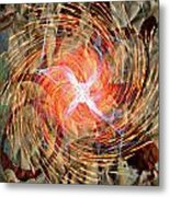 Dance Of Fires  Metal Print