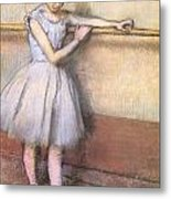 Dancer At The Bar Metal Print