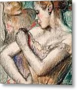 Dancer Metal Print by Edgar Degas