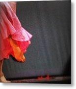 Dancer Foot First Metal Print