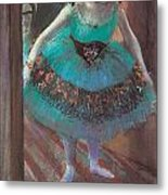 Dancer Leaving Her Dressing Room Metal Print