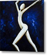 Dancer Of Light  Metal Print by Simona  Mereu