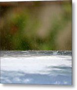 Dancing Droplets Metal Print