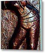 Dancing Girl Metal Print by Anand Swaroop Manchiraju