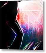 Dancing In The Stars Metal Print by The DigArtisT