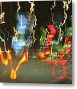 Dancing Light Metal Print
