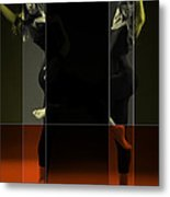 Dancing Mirrors Metal Print