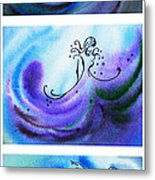 Dancing Water V Metal Print