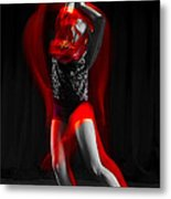 Dancing With Fire Metal Print