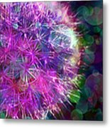 Dandelion Party Metal Print by Judi Bagwell