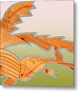 Dangerous Dinosaurs Metal Print