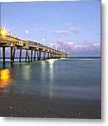 Dania Beach Pier Metal Print