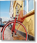 Danish Bike Metal Print by Robert Lacy