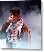 Danny Fresh Musical Concert At Manger Square Metal Print